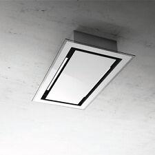 Elica Cirrus Ceiling Hood White Glass 60x100cm