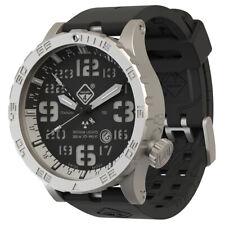Hazard 4 Heavy Water Diver Watch Tritium Lamps Sapphire Blacktie GGYG White GMT