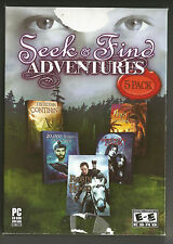 PC 2010 SEEK & FIND ADVENTURES - Robin Hood 20,000 Leagues, Immortal Lovers, +2