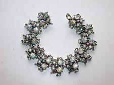Beautiful Vintage Aurora Borealis Stone Bracelet