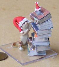 SCALA 1:12 Metallo Antico Cavallo REGGILIBRI tumdee casa delle bambole miniatura Scaffale Studio