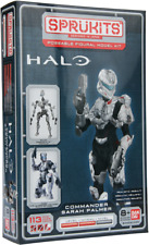 Sprukits Halo 4 commander sarah Palmer Bandai figurine articulée niveau 2 kit