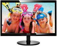 Philips 220V4LSB 22 inch LED Monitor - 1680 x 1050 Resolution, 5ms Response, DVI