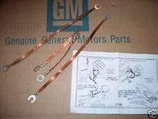 ground strap set 67 68 69 Chevy Chevelle 327 350 396 427 chevrolet malibu 300 ss