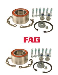 For Mercedes W220 S350 S430 00-06 Rear Wheel Bearing KITs FAG 2209800016