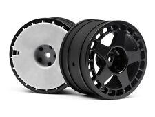 """HPI COURSE 114367 fifteen52 turbomac roue noire (2.2 """"/ 57x35mm/2 pièces) WR8"""