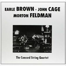 Earle Brwon, John Cage, Morton Feldman LP (Vinyl, Jun-2013, Klimt)