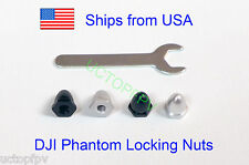 4x DJI Phantom Prop Aluminum Alloy Replacement Nuts CW CCW Thread w/ Wrench