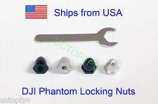Set of 4 DJI Phantom Screw Nuts CW CCW for Carbon Fiber Props Upgrade USA Seller