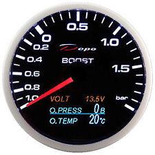 DEPO Racing 4 in 1 Pressione TURBO-Pressione OLIO-Temperatura OLIO-VOLTMETRO