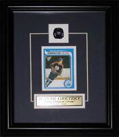 Wayne Gretzky Edmonton Oilers Replica Rookie Card NHL Hockey Collector Frame