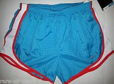NIKE AQUA BLUE TEMPO RUNNING SHORTS WOMENS XS XTRA-SMALL