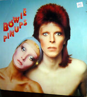 DAVID BOWIE  LP PIN UPS  MADE IN USA SLEEVE  INNER DYNAFLEX  1973