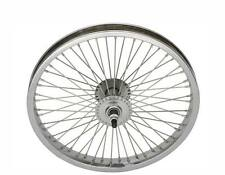 "LOW RIDER LOWRIDER BIKE BICYCLE 16"" 52 Spoke Front Wheel 14G Chrome"