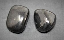 2 Shungite Specimen Tumbled Stone (Crystal Healing Gemstone Karelia)
