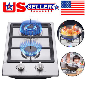 12In Gas Cooktop High Gas Stove Gas Hob Stove Top Rv Stove 2 ...