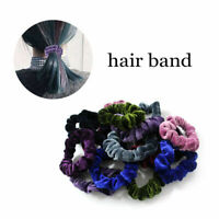 20pcs Hair Scrunchies Velvet Scrunchy Fabric Multicolored Srunchies Colorfu F5N0
