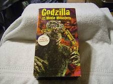 GODZILLA AND OTHER MOVIE MONSTERS VHS 2 TAPE BOX SET VERY RARE / USED / LIKE NEW