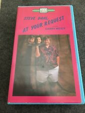 Steve Dahl At Your Request W/ Garry Meier VHS 1985 Chicago DJ Radio RARE