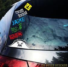 Stickerpaket 5 Autoaufkleber Sprüche Klebebuchstaben Boot Auto Motorad
