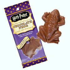 HARRY POTTER CHOCOLATE FROG - Jelly Belly Candy - Wizard Card - 1 pack - Novelty