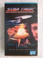 VHS-Video # PAL # Star Trek: The Next Generation # Gestern, Heute, Morgen # 1994