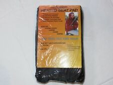 "Heatmax HotHands Heated Seat Pad 10"" X 13"" padded nylon seat & 2-18 hr heatpads"