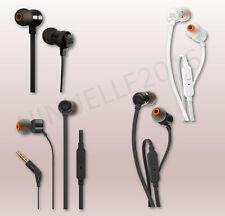 Kopfhörer JBL T110 In-Ear Flachkabel 3,5mm Headphones mit Bass Sound Headset