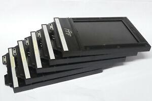 5x Linhof Doppel Planfilm Kassetten 9x12 / Film Holder