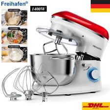 1400W Küchenmaschine Knetmaschine Teigmaschine Rührmaschine Teigmaschine 5,5L