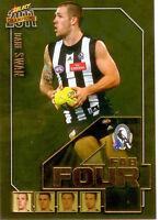 2011 Select AFL Champions Fab Four Gold Card FFG13 Dane Swan (Collingwood)