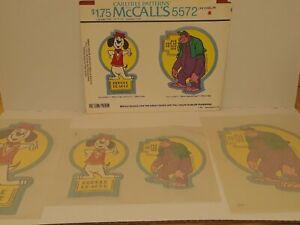 McCalls Iron On Transfers 1976 Hanna Barbera beagle beagle and great grape ape