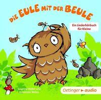 SUSANNE WEBER - DIE EULE MIT DER BEULE-EIN LIEDERHÖRBUCH FÜR KL   CD NEU
