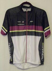 LouisGarneau EQUIPE 83 SERIES Womens Cycling Jersey Full Zip Back Pockets Sz XXL