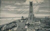 NEW YORK CITY - Riverside Drive showing Riverside Church