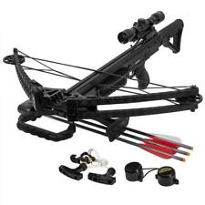 XtremepowerUs Archery Hunting Crossbow 380 Fps Multi Functional Scope Package