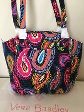 NWT Vera Bradley Mailbag Glenna  TWILIGHT PAISLEY Shoulder Bag