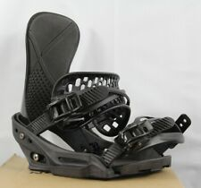 Burton X-Base EST Snowboard Bindings Medium Black (US 8-11) New