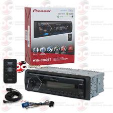 PIONEER 1DIN MVH-S300BT CAR MP3 DIGITAL MEDIA STEREO W/ USB AUX IN & BLUETOOTH