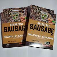 Mossy Oak GameKeepers Breakfast Sausage Seasoning Kit wild game beef up to 10 Lb
