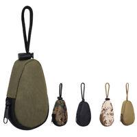 EG_ Tactical Waterproof Mini Army Fan Key Bag Unisex Keychains Case Pouch Natura