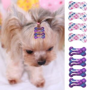 Small Dog Hair Clips Pet Grooming Hairpin Slides Cat Puppy Hair Accessory 20PCS