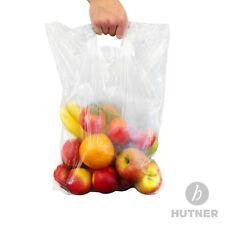 500 Plastik Tragetasche Beutel Polybeutel transparent