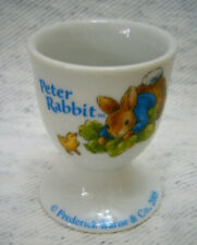 Peter Rabbit Porcelain Egg Cup By Fredrick Warne & Co 2005 Easter Eggcup New