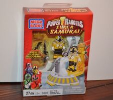 Mega Bloks Power Rangers SUPER SAMURAI 5805 Hero Pack SUPER MEGA MODE YELLOW NIB