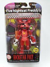 Cinque NOTTI AL FREDDY/'S PIZZA Chip SIM EL Glow fnaf Funko Action Figure