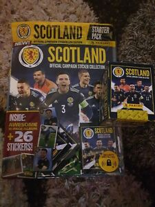 Panini Scotland Official Campaign Sticker Collection Full Display Box
