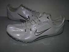 Nike Track and Field Mens Spiked Shoes MSRP $100 (White) NEW Men Sz 13