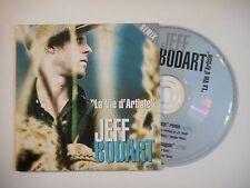 JEFF BODART : LA VIE D'ARTISTE [ CD SINGLE PORT GRATUIT ]