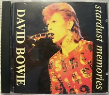 """DAVID BOWIE """"STARDUST MEMORIES"""" CD RARE OUTTAKES AND DEMOS 1969 - 1972 JAPAN"""